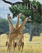 INQUIRY INTO LIFE By Sylvia S. Mader - Hardcover *Excellent Condition*
