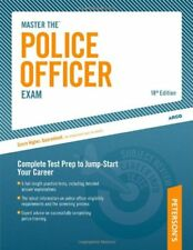 MASTER POLICE OFFICER EXAM By Therese Deangelis **BRAND NEW**