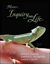 INQUIRY INTO LIFE By Sylvia Mader - Hardcover *Excellent Condition*