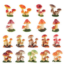 Little Resin Crafts Mushroom Decals for Table, Pocket Size for Carrying