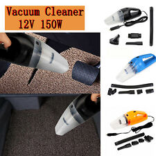 Car Vacuum Cleaner 12V 150W Auto Dust Duster ABS Portable Mini Cyclonic Wet/Dry