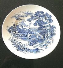 Vintage Wedgwood Decorative Collector Plates Countryside Scenes Angels Wall Set