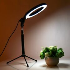 Dimmable LED Studio Camera Ring Light Video Light Lamp With Tripods for Canon