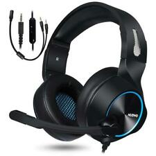 Gaming Headset Stereo Surround Noise Cancelling Over Ear Gaming Headphones with