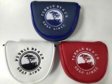 US Flag Pebble Beach Golf Mallet Putter Head Cover Magnetic Headcover Fr Odyssey