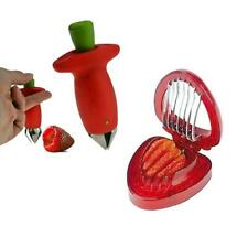 Strawberry Huller Corer & Slicer Prep Kit