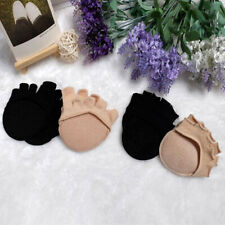 Fashion Forefoot Socks Non-slip Invisible Half Sock Five Fingers Socks Women NEW