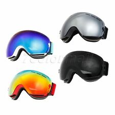 Kid Snowboarding Snowmoblie Goggles UV400 Protection Mirror Coating Anti-scratch