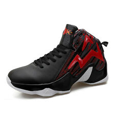 Men's New High-Top Basketball Sneakers Atheletic Non-Slip Shoes Breathable Cool