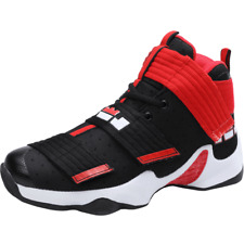 Men's Basketball High Top Hook Sneakers Outdoor Sport Shoes Atheletic 5 Colors