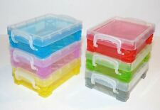 Super Stacker® Box, Clear / Blue / Red / Yellow / Green / Purple