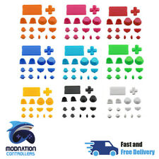 PS4 V1 Controller Full Buttons Button Custom Mod Kit Set - Free Screwdriver