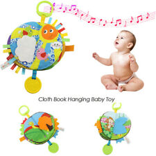 Fashion Baby Educational Toys Cloth Book Early Learning Toys Hanging Baby Toy