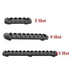 M-LOK Picatinny Weaver 5/9/13 Slots Rail Section Mount Section T-Nut