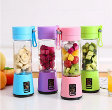 Portable Personal Blender Juicer Mix Blend Rechargeable Jet Cordless Squeezers