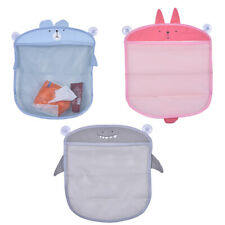 Novelty Animal Mesh Storage Bag Bath Hanging Net Toy Organizer with Suction Cup