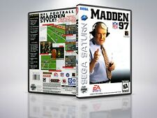 Madden NFL '97 - Saturn - Replacement - Cover/Case - NO Game