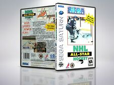 NHL All Star Hockey  - Saturn - Replacement - Cover/Case - NO Game