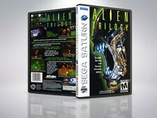 Alien Trilogy - Saturn - Replacement - Cover/Case - NO Game