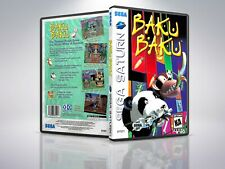 Baku Baku Animal - Saturn - Replacement - Cover/Case - NO Game