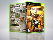 Armed and Dangerous - XBOX - Replacement - Cover/Case - NO Game