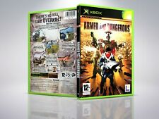 Armed and Dangerous - XBOX - Replacement - Cover/Case - NO Game - PAL/US
