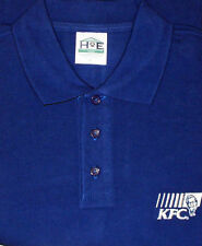 KFC UNIFORM POLO SHIRT KENTUCKY FRIED CHICKEN UNISEX