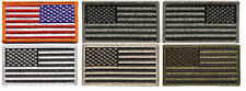 American Flag Patch with Hook and Loop Velcro
