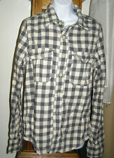 Abercrombie Men Raquette Flannel Button Shirt NEW $80tags S XXL