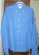 Abercrombie Men Button Down Shirt NEW was$78 S M L 5styles