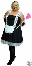 PLUS SIZED FRENCH MAID FANCY DRESS IN EVERY PLUS SIZE