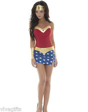 Sexy Wonder Woman Costume - HEROES, Fairytales, EXPRESS
