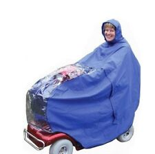 Waterproof Scooter Cape Kozee Scoota Kape in royal blue or maroon