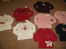 GYMBOREE HOMECOMING KITTY CAT ASSORTED TOP 3 4 5 6 7 8 9 10 OR 12 NWT