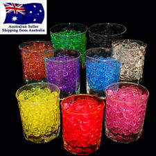120g Crystal Soil Water Balls Jelly Gel Beads Home Table Decoration Vase Filler
