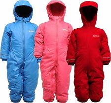 Regatta Splosh II Waterproof Breathable All In One Padded Fleece Lined Snow Suit