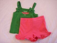 NWT Girl's Gymboree Palm Beach Paradise tank shirt & shorts ~ 12-18 months 3 3T