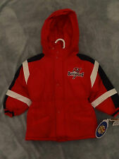 NWT Tampa Bay Buccaneers Toddler Hooded Red/Black/White Parka - Sizes 2T - 4T