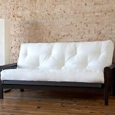 Full or Queen Size 6 Inch Cotton Futon Mattress Many Color to Choose from