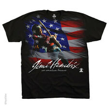 New JIMI HENDRIX American Music T Shirt