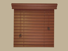 """2"""" Elegant Fauxwood Window Blinds -Size- 29"""" x 36"""" - 5 Beautiful Color Choices"""
