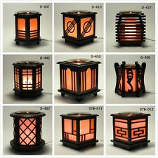 *Japanese* Wooden Electric Scent Oil Diffuser Warmer Burner Aroma Fragrance Lamp