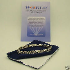 New 2 x Silver Gold Jewelry Polishing Cloth-Cleaner