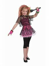 Child 80's Punk Star To The Maxx Halloween Costume Fancy Dress Up
