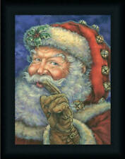 Better be Good Santa Claus Christmas Décor Framed Art Print Wall Décor Picture