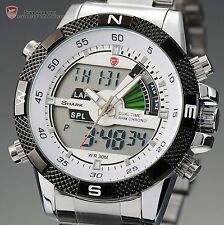 SHARK LCD Digital Chronograph Date Day Quartz Men Watch