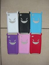 Devil Silicone Case Cover For iPod Touch 4th Generation + Free Screen Protector