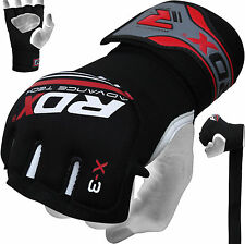 Auth RDX GEL Hand Wraps Grappling Gloves MMA,Boxing Mexican Punch Bag Muay Thai