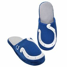 Pair Indianapolis Colts Big Logo Slippers 2011 NEW - TWO TONED House shoes!