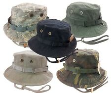 Army Military Boonie Fishing Hunting Army Bucket Jungle Cotton Cap Hat